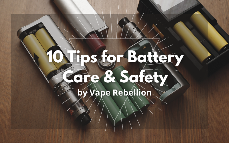 10 Tips for Battery Care and Safety